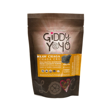 Giddy Yoyo Organic Chaga Tea Cut