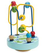 Manhattan Toy Wobble-A-Round Beads Blue