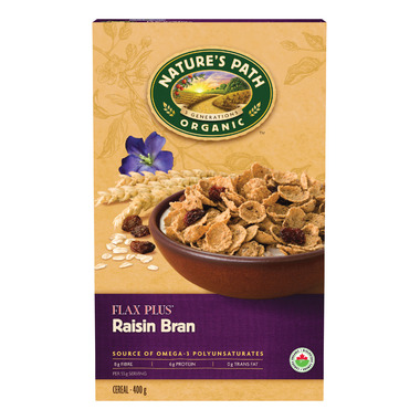 Nature\'s Path Organic FlaxPlus Raisin Bran Flakes