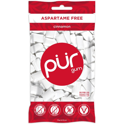 PUR Sugar-Free Cinnamon Gum Bag
