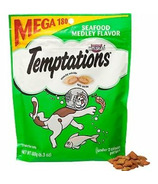 Whiskas Temptations Seafood Medley Flavour Cat Treats