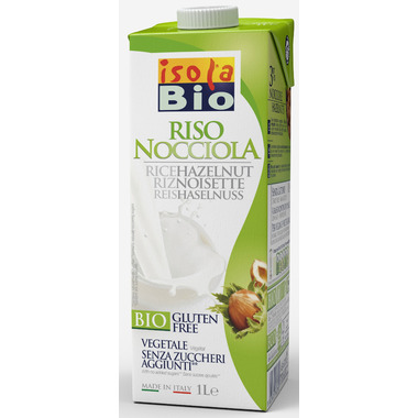 Isola Bio Rice-Hazelnut Beverage