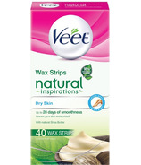 Veet Naturals Inspirations Hair Removal Wax Strips