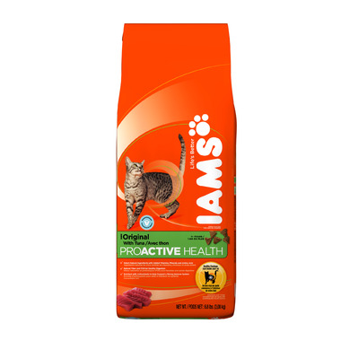 Iams Cat ProActive Health Adult Original With Tuna 6.8 lbs