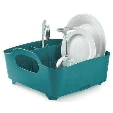Umbra Tub Dish Rack Teal