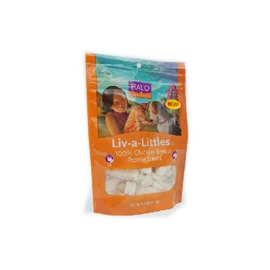 Halo Liv-a-Littles 100% Chicken Breast Protein Treats