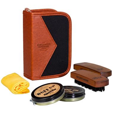 Gentlemen\'s Hardware Shoe Shine Kit Canvas