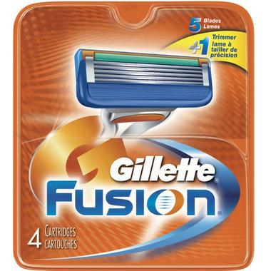 Gillette Fusion Blades