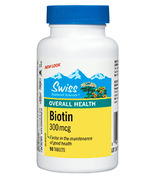Swiss Natural Sources Biotin 300mcg
