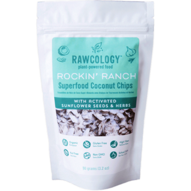 Rawcology Rockin\' Ranch Superfood Coconut Chips