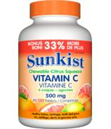 Sunkist Vitamin C Chewable Citrus Squeeze
