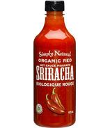 Simply Natural Organic Red Sriracha Hot Sauce