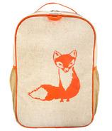 So Young Orange Fox Grade School Backpack
