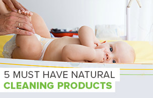 5 Must Have Natural Cleaning Products