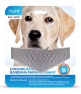 FouFit Cooling Bandana Medium/Large Grey