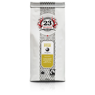 23 Degrees Roastery Morning Star Whole Bean Coffee