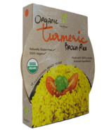 Healthee Tumeric Ready to Eat Organic Brown Rice