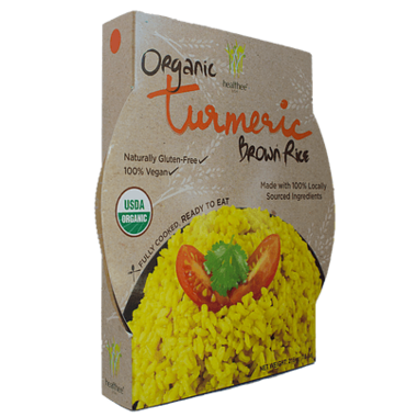 Healthee Tumeric Organic Brown Rice