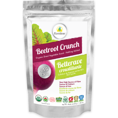 Ecoideas Organic Raw Beetroot Crunch