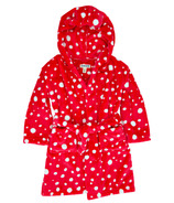 Little Blue House by Hatley Kids Fuzzy Fleece Robe Snowball Polka Dot
