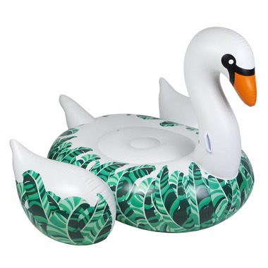Sunnylife Luxe Ride-On Float Swan Banana Palm