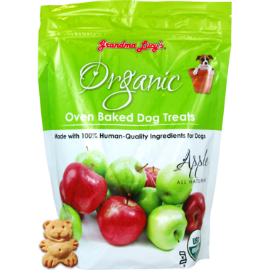 Grandma Lucy\'s Organic Oven Baked Apple Dog Treats