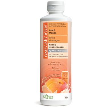 Botanica Omegalicious Peach Mango High Potency Fish Oil