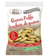 Eat Real Quinoa Puffs White Cheddar Flavour
