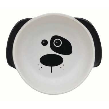 Ore Pet Scruffy the Dog Bowl White