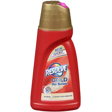 Resolve Gold Oxi-Action In-Wash Gel Stain Remover Colours