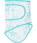 Miracle Blanket Aqua Stars with Aqua Trim
