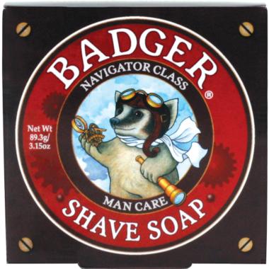 Badger Navigator Class Man Care Shaving Soap