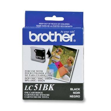 Brother LC51BKS Series Black Ink Cartridge