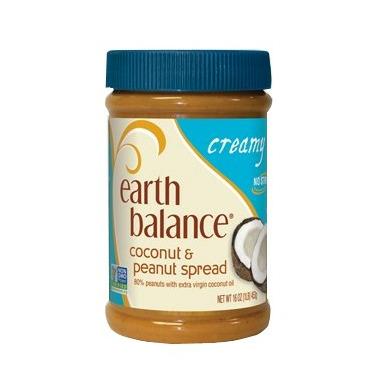 Earth Balance Creamy Coconut & Peanut Spread