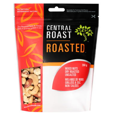 Central Roast Roasted Unsalted Mixed Nuts