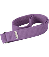 Gaiam 6 Foot Yoga Strap Purple