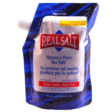 Redmond Real Salt Nature\'s First Sea Salt