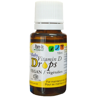 Pure-le Natural Baby Vitamin D Drops