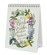 Rifle Paper Co. 2018 Herb Garden Desk Calendar