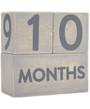 Pearhead Wooden Milestone Age Blocks