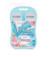 Gillette Venus Spa Breeze Disposable Razors