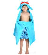 Zoocchini Toddler Hooded Towel Sherman The Shark