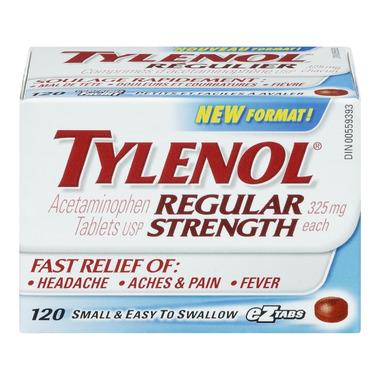 Tylenol Regular Strength eZ Tabs