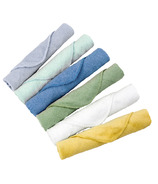 Kushies Single Ply Washcloths Boy Pack