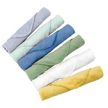 Kushies Single Ply Washcloths Boy Pack
