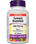 Webber Naturals Turmeric Bromelain