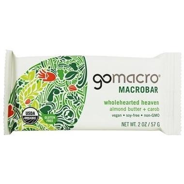 GoMacro MarcoBar Almond Butter + Carob