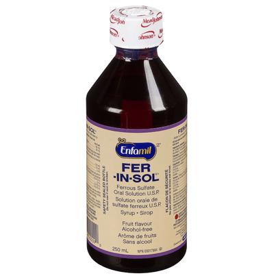 Buy Enfamil Fer-In-Sol Liquid Ferrous Sulfate Oral ...