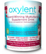 Oxylent Blackberry Pomegranate Canister Powder