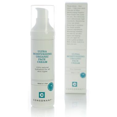 Organic deep facial moisturizers